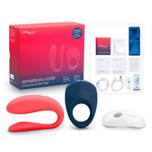 Set Sensations Unite Collection mit Paar-Vibrator und Penisring_1